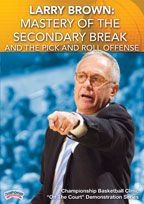 Larry Brown: Mastery of the Secondary Break and the Pick and Roll Offense