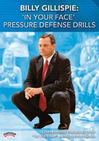 Billy Gillispie: 'In Your Face' Pressure Defense Drills