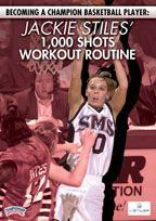 Becoming a Champion Basketball Player: Jackie Stiles' 1,000 Shots Workout Routine