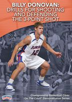 Billy Donovan: Drills for Shooting and Defending the 3-Point Shot