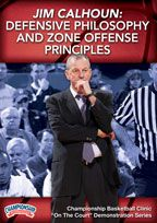 Jim Calhoun: Defensive Philosophy and Zone Offense Principles