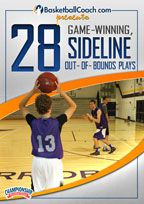 BasketballCoach.com presents: 28 Game-Winning, Sideline Out-of-Bounds Plays