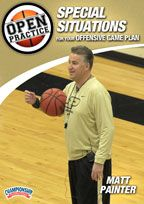 Open Practice: Special Situations for Your Offensive Game Plan