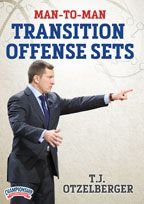 Man-to-Man Transition Offense Sets