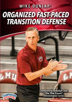 Mike Dunlap: Organized Fast-Paced Transition Defense