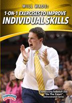 Will Wade:1-on-1 Exercises to Improve Individual Skills
