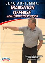 Geno Auriemma: Transition Offense & Evaluating Your Season