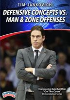 Tim Jankovich: Defensive Concepts vs. Man and Zone Offenses